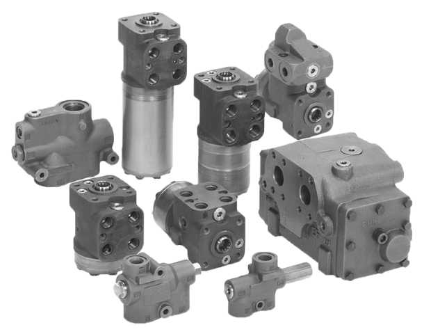 OSPB,C,F,D,L,LS Steering Units, OLS Priority Valves, OSQ Flow Amplifiers Technical Information