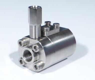 Pressure compensating flow control valve V 06 17